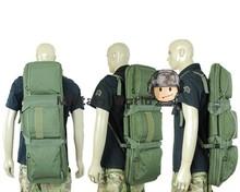 85CM Heavy Duty Tactical Military Airsoft Dual Rifle Bag Backpack Combat War Game Hunting Shooting Gun Case Balck/Multicam/Tan
