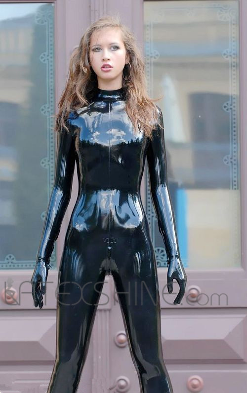 black sexy latex full body tights latex catsuit bodysuit leotard for woman and men on aliexpress. Black Bedroom Furniture Sets. Home Design Ideas