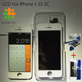 100 Test Black White Brand Screen For iPhone 5 5S 5C LCD Display Touch Screen Digitizer