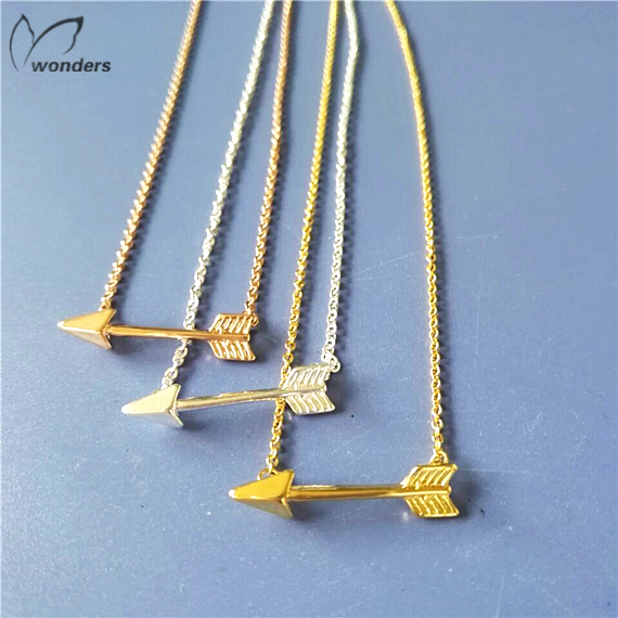 2015newest jewelry 30pcs/lot  Free shipping Vintage Chains trending summer necklace arrow Necklaces pendants<br><br>Aliexpress