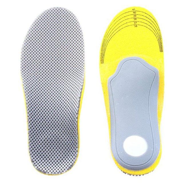 Женщины Удобные Ортопедических обуви Стельки Cuttable Сетки Pad 3D ТПУ Супинатора ...