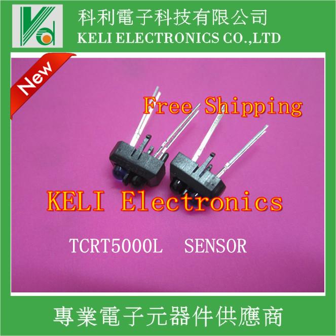Free Shipping 200 pcs TCRT5000L TCRT5000 Reflective Infrared Optical Sensor Photoelectric Switches(China (Mainland))
