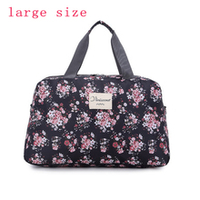 2016 New Fashion Women's Travel Bags Luggage Handbag Floral Print Women Travel Tote Bags Large Capacity PT558(China (Mainland))