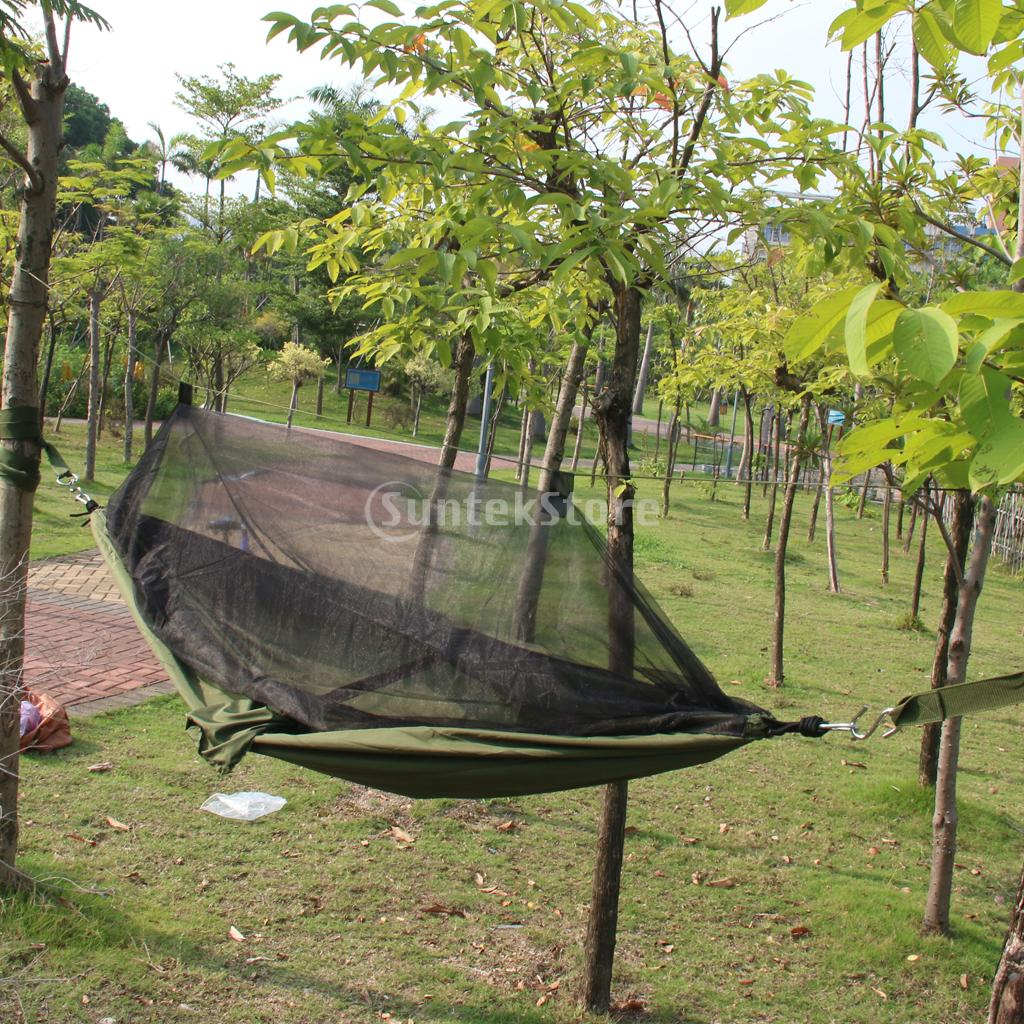 Backyard Hammock Bed : Travel Outdoor Camping Tent Hanging Hammock Sleeping Bed w Sack Free