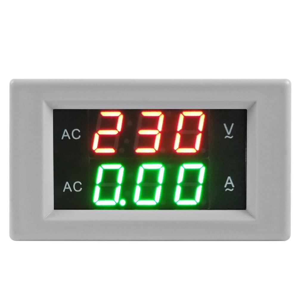 AC 130-500V Digital Voltmeter Ammeter LED Volt Meter CT Current Transformer MA392(China (Mainland))