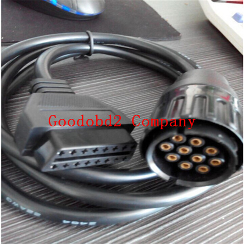 For BMW ICOM D Cable Motorcycles Cable Motobikes Diagnostic Cable for bmw 10 Pin Adaptor car diagostic icom tool(China (Mainland))