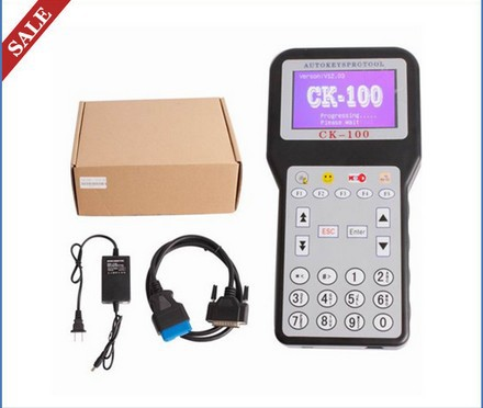 2013 Latest Generation CK-100 Car Key Programmer V37.01 Slica SBB CK100 CK 100 Tool with Multi-language(China (Mainland))