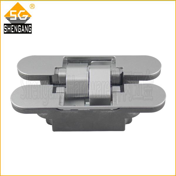 180 degree zinc alloy 3d adjustable folding door hinge in for 180 degree door