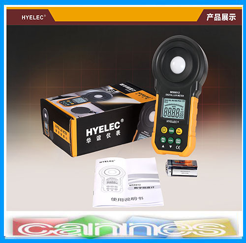 HYELEC MS6612 Digital Lux Meter Handheld Multifunction Meter for Light Illuminance Measuring Flow Flowmeter Nissan Primera(China (Mainland))