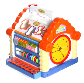 New year gift department of music 739 multifunctional toys fun wisdom house child educational toys