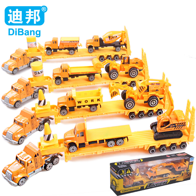 HOT Sales Alloy Engineering car series Engineering transport vehicle/Dump truck/mixer Car/Big truck toy model toy for children(China (Mainland))