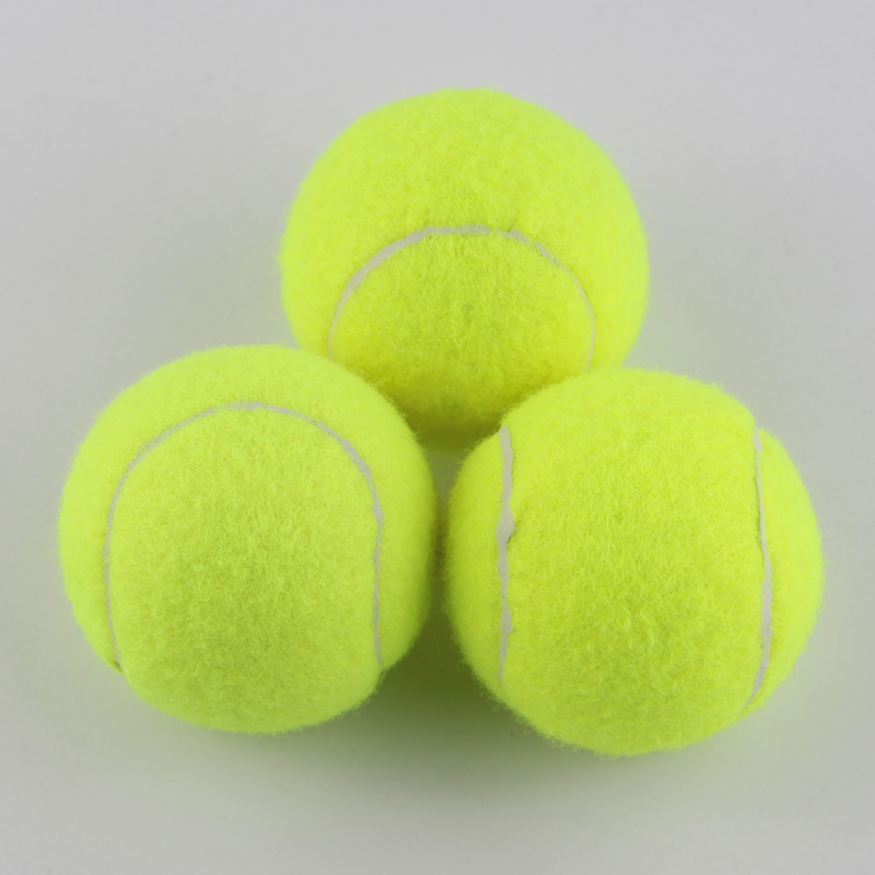 1pc Synthetic Wool Fiber Rubber Professional Outdoor Sports Standard size Entry-level Beginner Training Tennis Balls Good Bounce(China (Mainland))