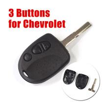 10pcs Logo Uncut Keyless 3 Buttons Remote Key Shell Chevrolet Holden Commodore Car VS VR VT VX VY VZ