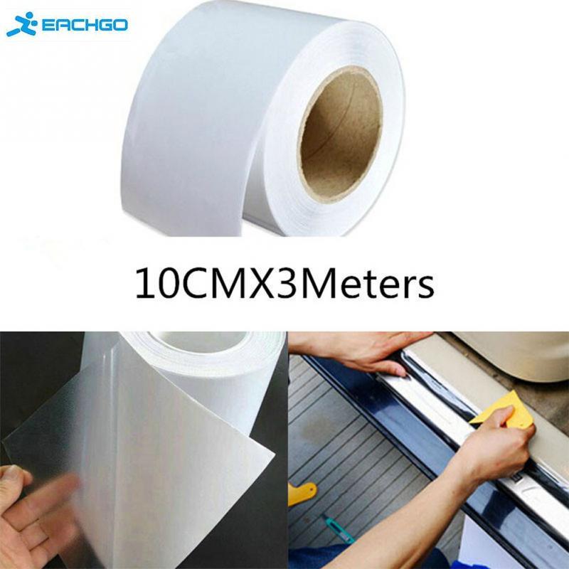 Automotive accessories universal 10cm x 3M Rhino Skin Sticker PVC clear transparent film glue sticker(China (Mainland))