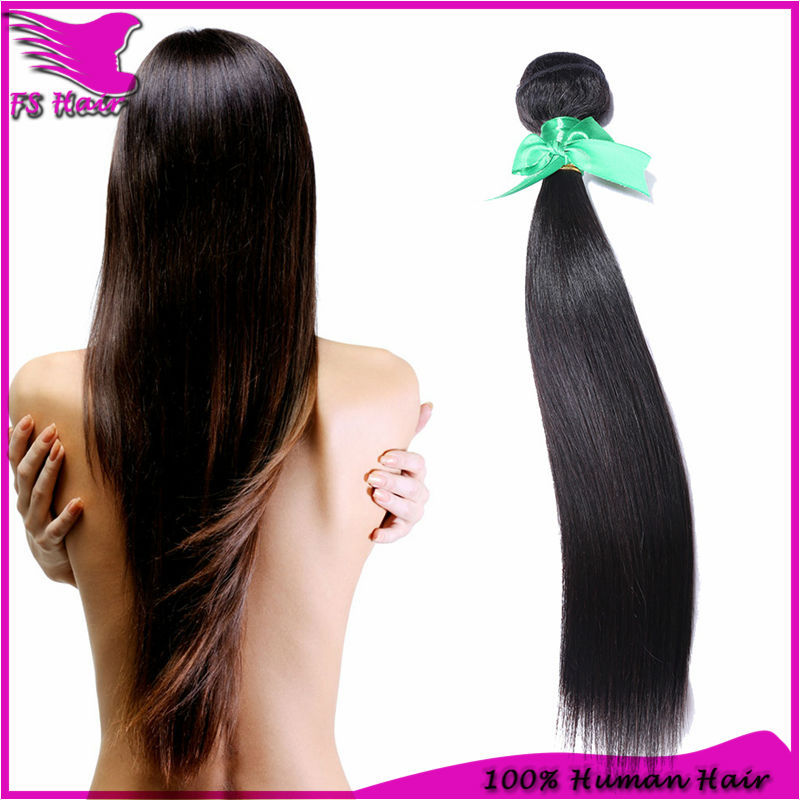 100% Human unprocessed Peruvian  virgin hair extension Straight 1PCS/LOT 6A  Human Hair Weave  Peruvian virgin hair straight <br><br>Aliexpress
