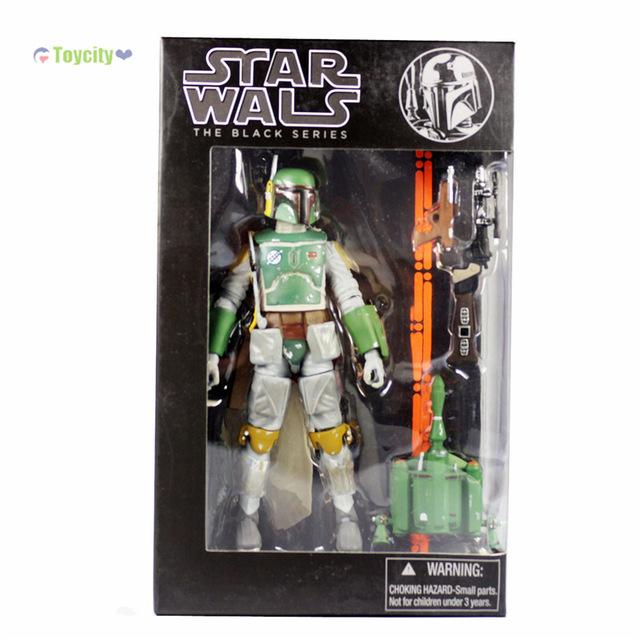 9 Choices Star Wars The Black Series (Replica)6 Boba Fett stormtrooper Sandtrooper Clone Trooper Captain Action Figure In Box<br><br>Aliexpress