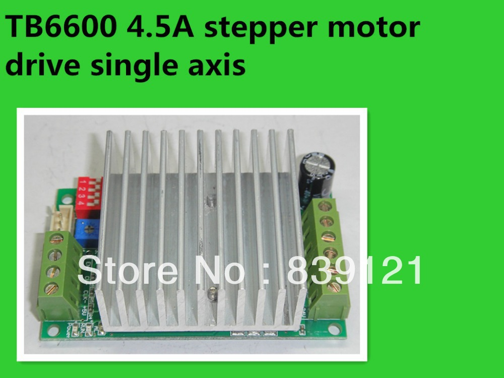 TB6600 4.5A stepper motor drive single axis stepper motor driver board controller(China (Mainland))