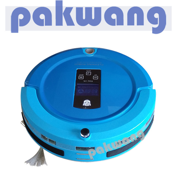 Robot Vacuum Cleaner Sweep Vacuum Mop Sterilize LCD Touch Screen Schedule 2-Way Virtual Wall,china vacuum cleaner(China (Mainland))