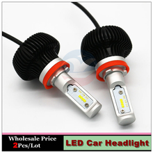 Buy Led Car Headlight H8 Fog DRL Light Head Driving Lamp 12V 24V Xenon white Bulb Replacement Auto Head Lamp for $39.47 in AliExpress store