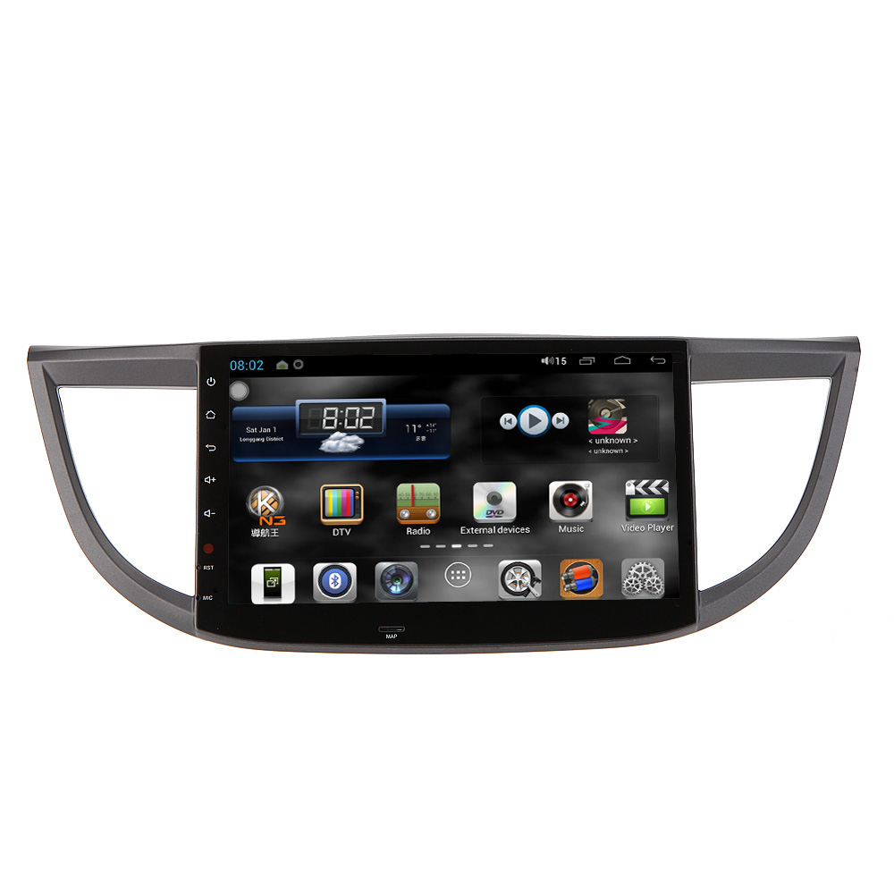 """10.1"""" Car DVD Player Andriod GPS Navigation in Dash Car Radio 2 Din Touch Screen Car PC Stereo Unit for Honda CRV 2012 2013 2014(China (Mainland))"""