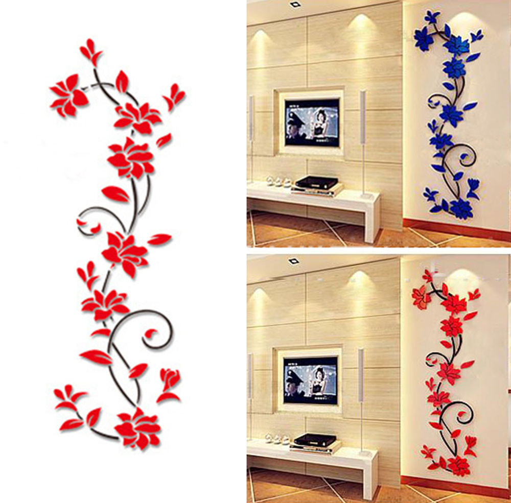 New Year You A Merry Christmas Wall Sticker Home Shop Windows Decals Decor Removable acrylic mirrored decorative sticker(China (Mainland))