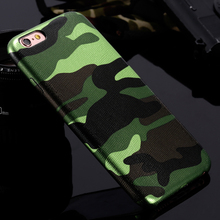 For iPhone 7 Cases 5S 5 Military Camouflage Men Leather Cover Case For iPhone 7 7 Plus For iPhone 6 6S Plus 5 5s SE Couqe Fundas(China (Mainland))