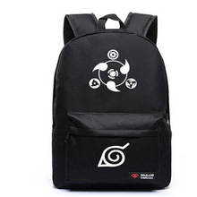 Naruto Luminous Rucksacks Hokage School Travel laptop Bag for Teenagers Japanese Anime Canvas Backpack Bolsas Mochila Escolar