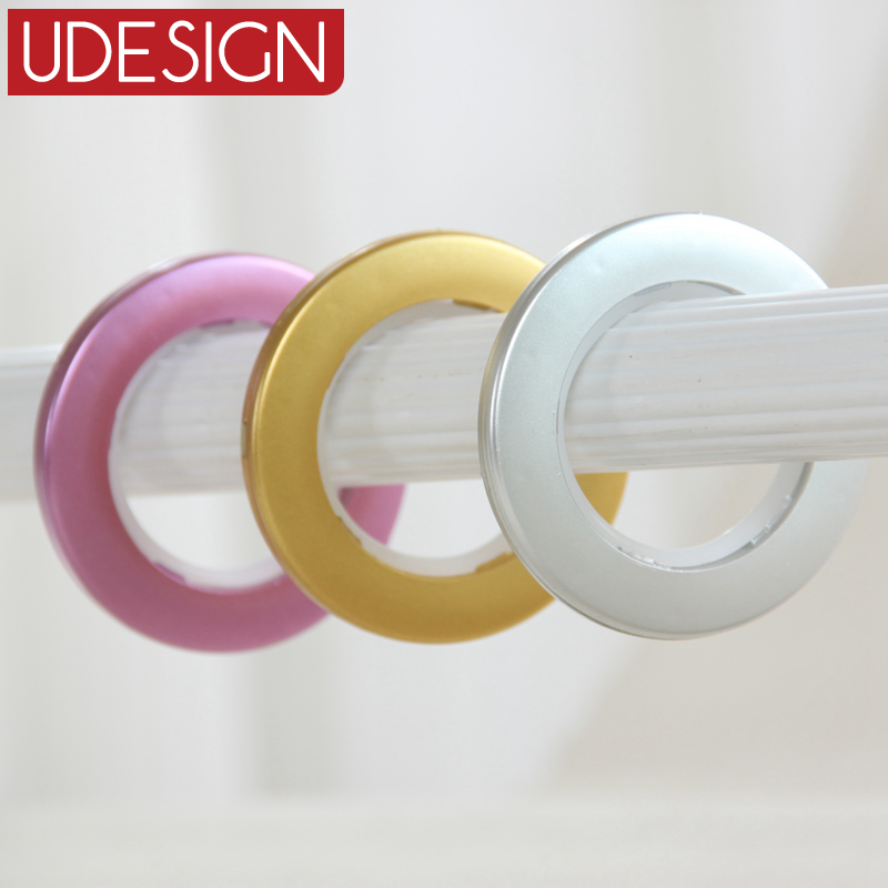 High Quality 3 Colors Decoration Curtain Accessories Plastic Rings Eyelets For Curtains In