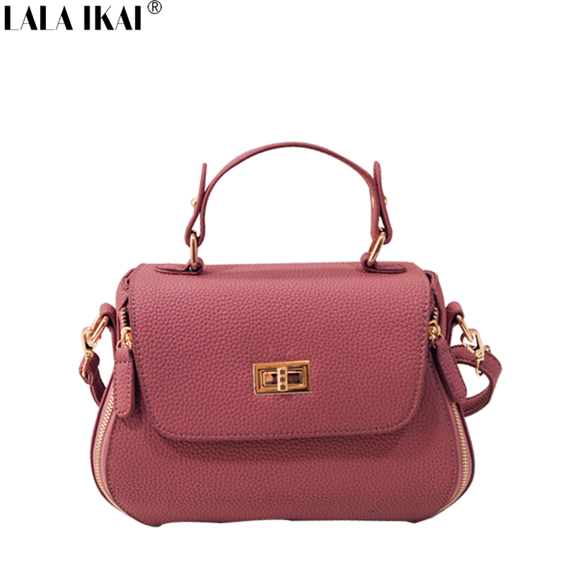 European Popular Women Brand Messenger Bags with Hasp Casual Totes Ladies Leather Handbag for Shoulder Solid Handbags BWC0907-49<br><br>Aliexpress