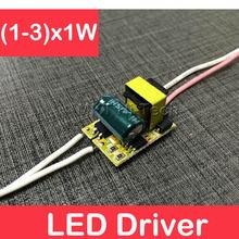 For LED Strip Bulb Electronic Lighting Transformer AC85-265V300mA 110V 220V (1-3)x1W 3x1W 1W 2W 3W LED Driver Lamp Power Supply(China (Mainland))