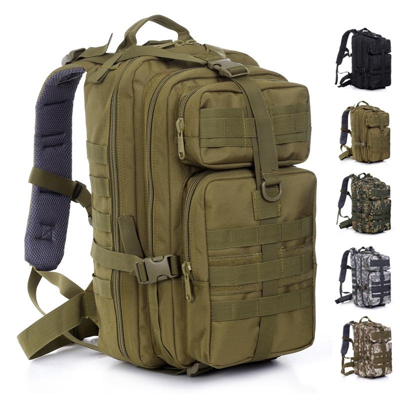 Hot Multi-layer Military backpack men women Outdoor trekking camouflage molle Tactical Gear nylon Large casual Camping bag<br><br>Aliexpress