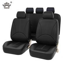 Buy New Luxury PU Leather Auto Universal Car Seat Covers Automotive Seat Covers for toyota lada kalina granta priora renault logan for $30.24 in AliExpress store