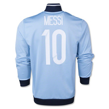 2014 2015 World Cup Argentina Messi Track Top Men Soccer Jackets Fashion Men Winter JacketsCheap Men