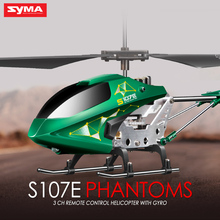 2016 Hot Original SYMA S107E Electric 2.4G 3CH Gyro RC Quadcopter High Quality Colorful Flashing Lights Drones Mini Helicopter