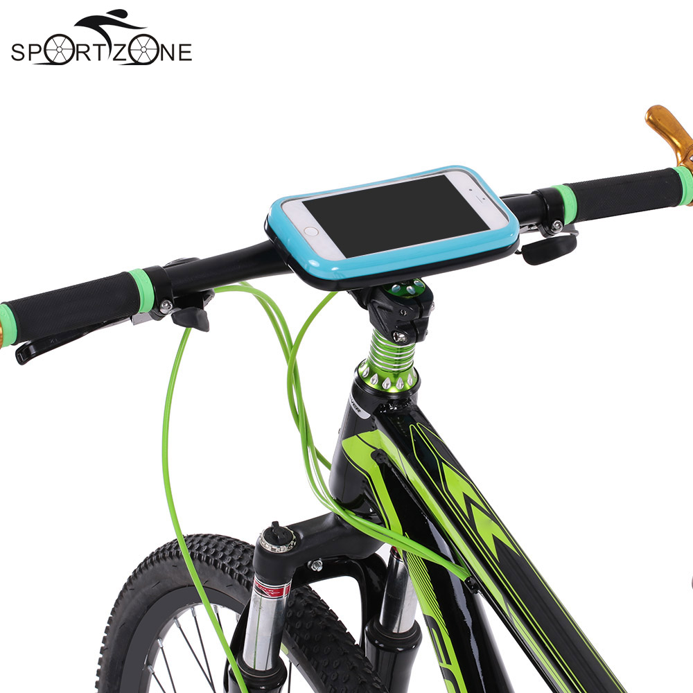 Lixada Bicycle Handlebar Waterproof Bike Bag &Motorcycle Bicycle Cycling For 5.5'' Cell Phone Mount Holder Case Bike Accessories(China (Mainland))