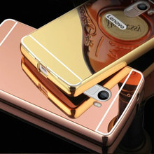 Buy K4 Note Luxury Aluminum Frame Mirror Case Lenovo K4 Note A7010 Vibe X3 Lite Vibe K5 A6020a40 Phone Back Cover Capa for $2.65 in AliExpress store