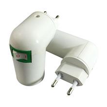 Buy PBT PP E27 Base LED Light Lamp Holder Bulb Adapter Converter Socket EU Plug E27 Lamp Holder Converters for $1.22 in AliExpress store