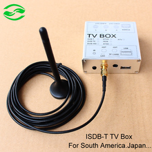 Car ISDB-T ISDB Digital TV Receiver Box With Antenna For RK3188 Android 4.4 PC Auto DVD Player, Fit For South America, Japan(China (Mainland))