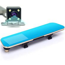 2016 Newest Car Camera Car Dvr Blue Review Mirror Digital Video Recorder Auto Navigator Registrator Camcorder Full HD 1080P Dvrs(China (Mainland))