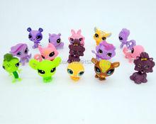10Pcs/LOT 2.4″ Little Pet Shop LPS Toys Action Figures Cartoon Collection toys,10 pcs ship out random