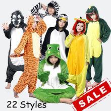 Shineye единорог тоторо миньон панда взрослых мужская фланели балахон пижамы комплект костюм косплей милые животные Onesies для женщин мужчины