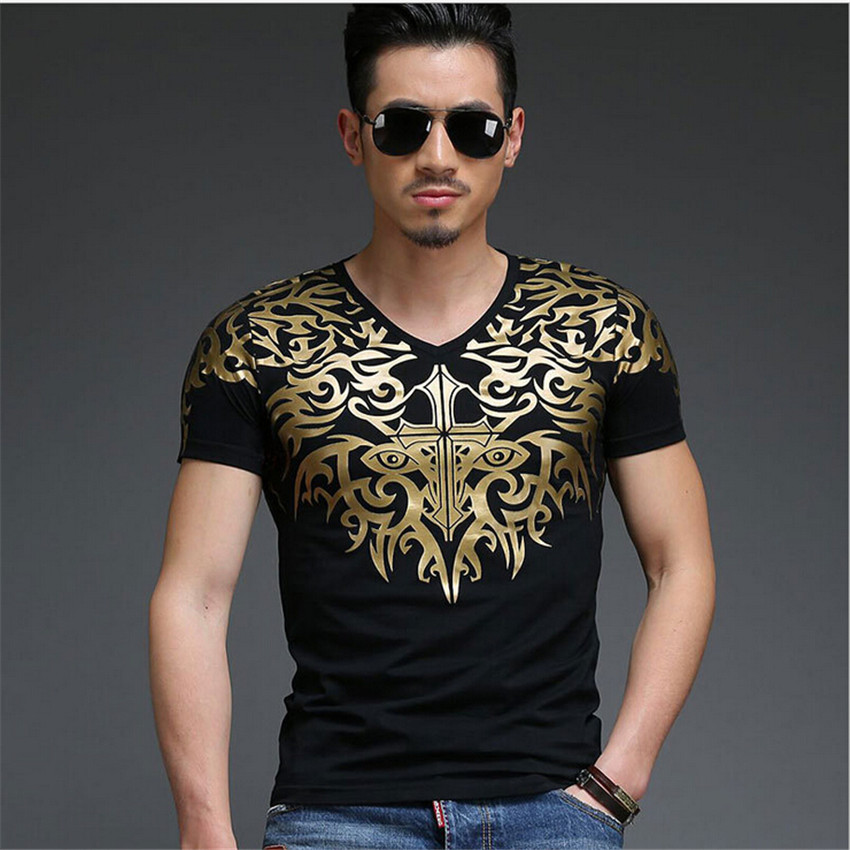 2015 new spring and summer fashion men's T shirts Hot stamping pattern style ICONS printed t-shirts with short sleeves(China (Mainland))