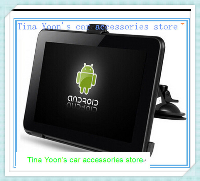 New 7 Inch Car GPS Navigation Android Allwinner A23 WIFI/FM tablet pc Truck vehicle gps Navitel 9.5 or full Europe map 8GB(China (Mainland))