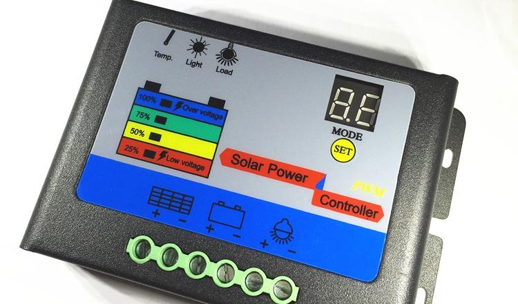 Smart 12V24V20A solar controller power controller charger aluminum heat<br><br>Aliexpress