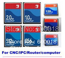 100% Industry memory  Compact Flash CF card 128MB 256MB 512MB 1GB 2GB Memory Card Price for CNC IPC ROUTER PRINTER COMPUTER