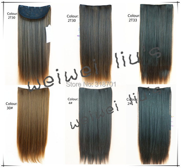 Hair Extension Long 24 Wide 9,135g. straight clip in hair extensions hairpiece hair pieces accessories free shipping<br><br>Aliexpress