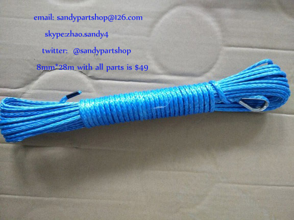 4mm*15m atv winch line for small electric winch,winch cable for auto parts,winch accessories<br><br>Aliexpress