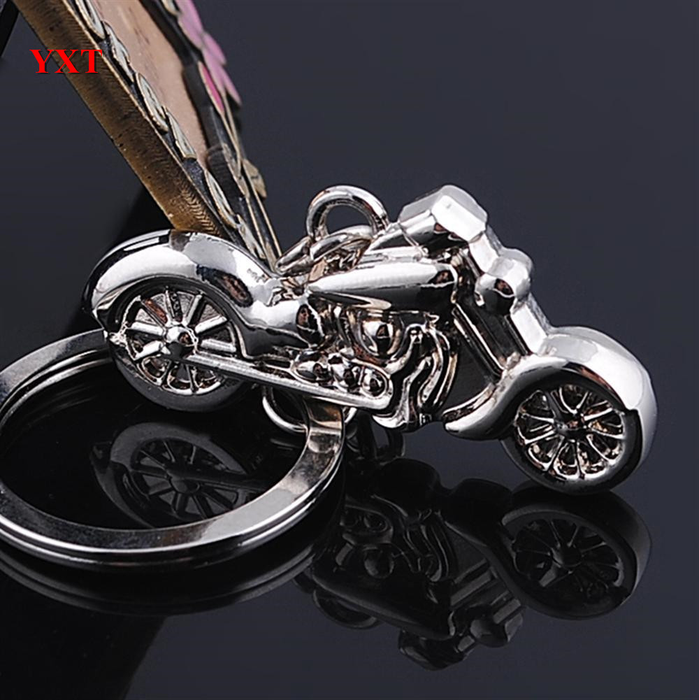 Cool Silver Metal Charm Car Key Ring Chain Gift New China Mainland