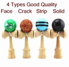 Good Quality 4Types Toy Ball Kendama Beech Matarial Ball Bilboquet(China (Mainland))