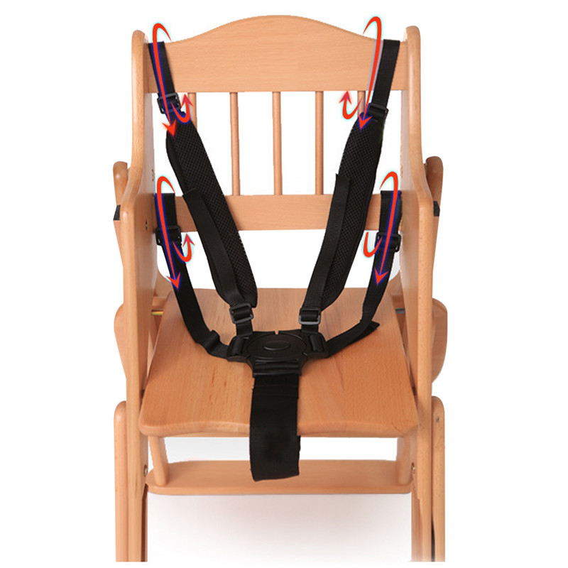 Universal Baby 5 Point Harness Safe Belt Seat Belts For ...